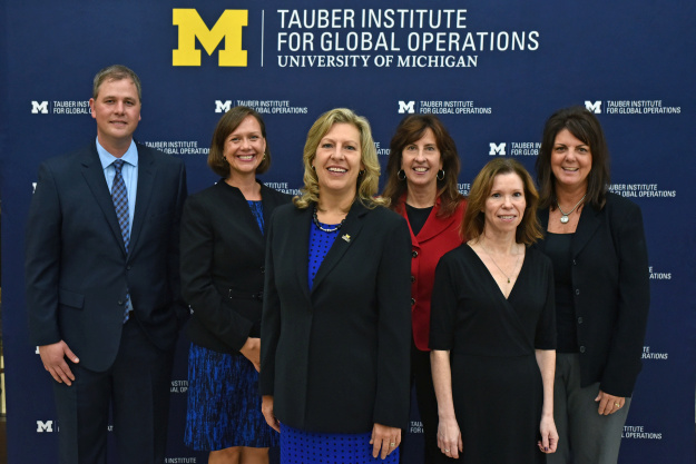 Staff of the U-M Tauber Institute for Global Operations