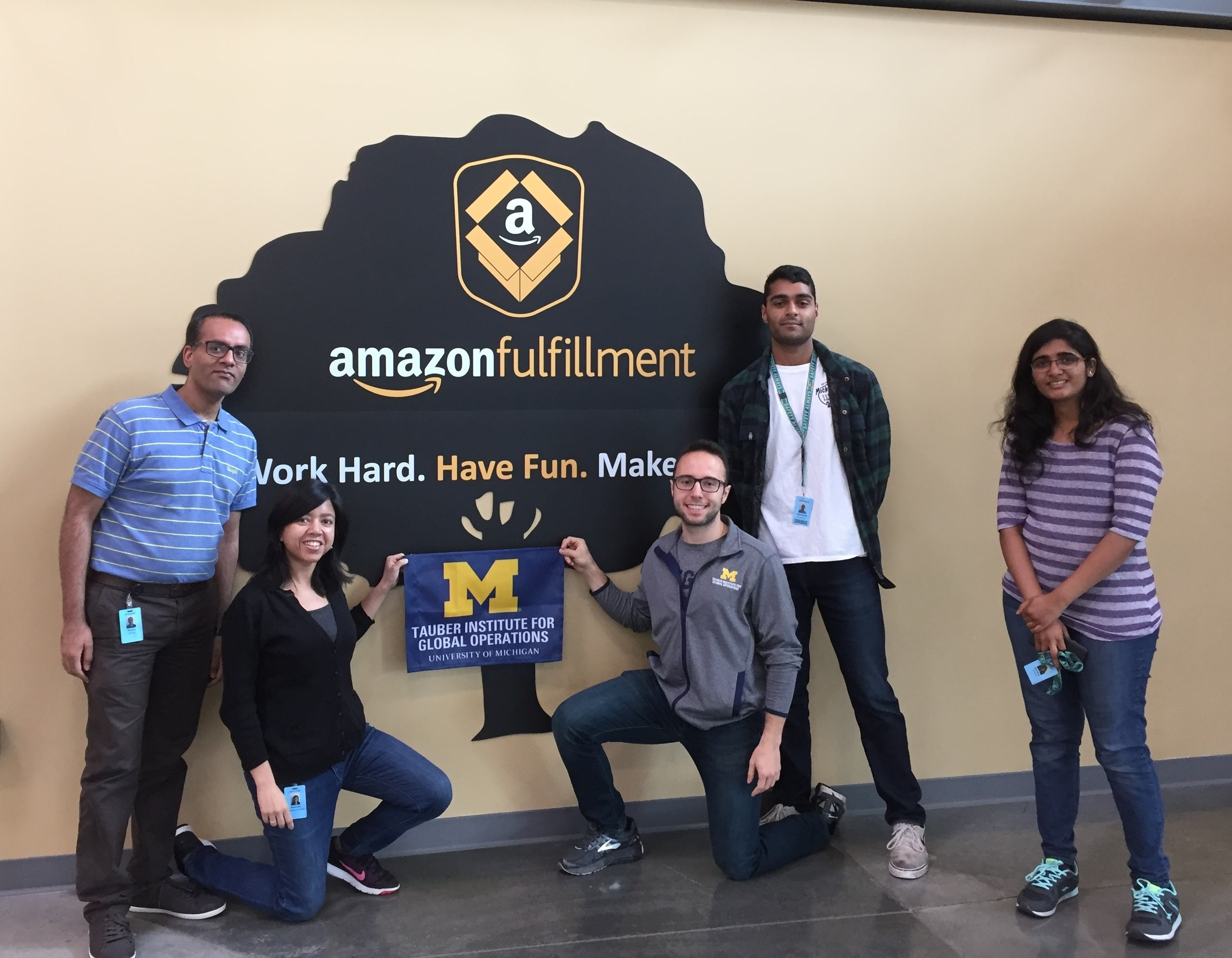 2017 Tauber Team Amazon Fulfillment